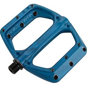 Spank Spoon DC Flat Pedal, blue